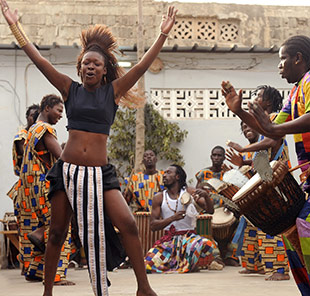 Senegalese Dancer