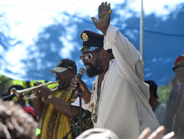 George Clinton at the R&B Festival at Metrotech