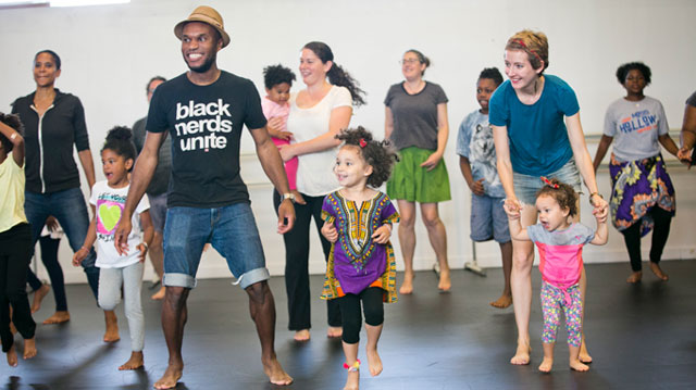 Dance Africa Family Workshop