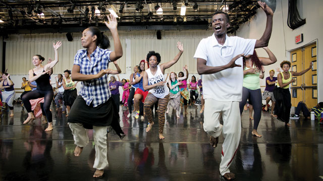 DanceAfrica Family Workshop