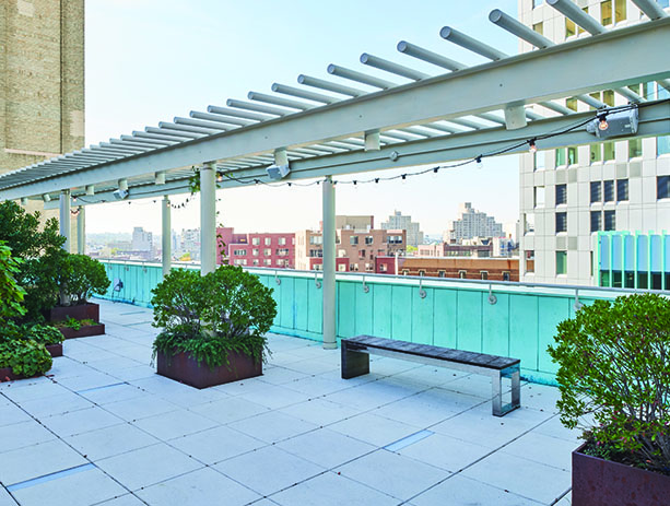 bam fisher rooftop terrace - Rooftop Patio