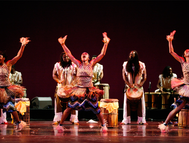 DanceAfrica performers