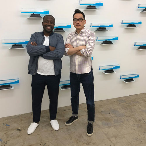 Larry Ossei-Mensah and Glenn Kaino