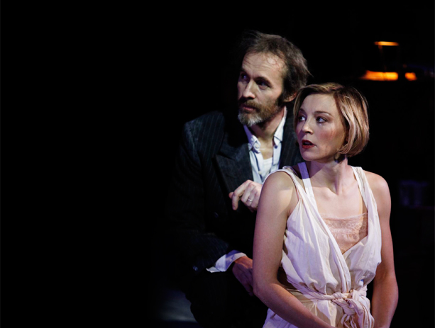 Stephen Dillane and Juliet Rylance in The Tempest