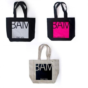 New BAM Tote (Black/White/Pink) 18.50