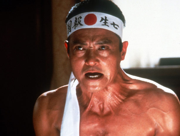 """still of """"Yukio Mishima"""" from the movie """"Mishima"""""""