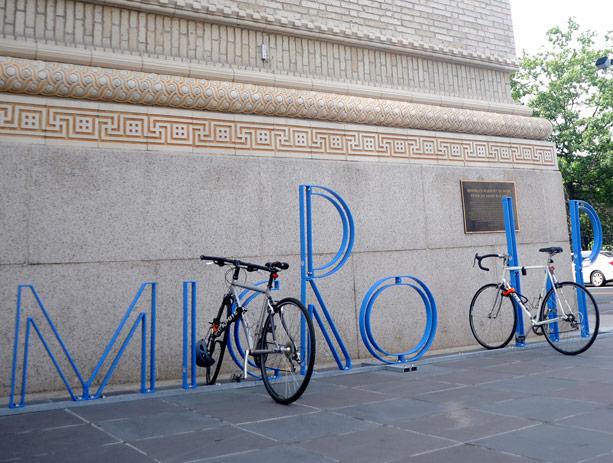 Bam David Byrne Bike Racks