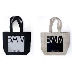New BAM Tote (Black/White), $18.50